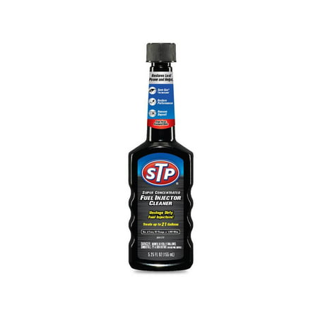 STP Super Concentrated Fuel Injector Cleaner, 5.25 fl. (Best Fuel Injector Cleaner Reviews)