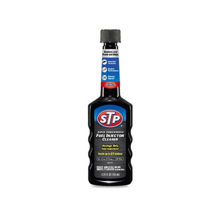 STP Super Concentrated Fuel Injector Cleaner, 5.25 fl. oz. ()