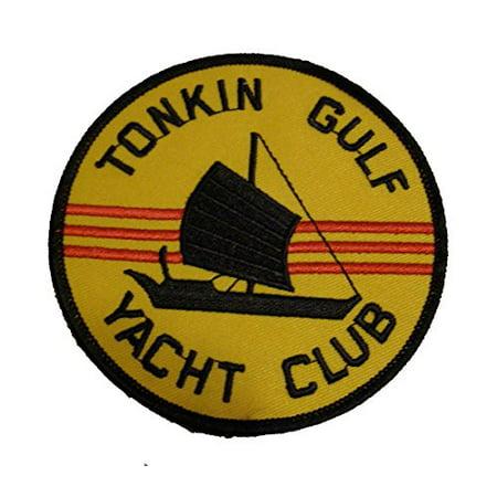 Tonkin Gulf Yacht Club Patch- Vietnam War Vet - Medium - Veteran Owned - Gulf War Veteran Patch