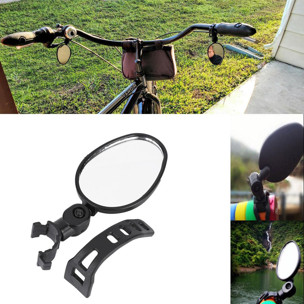 Accessoire de Miroir de Bicyclette Rotatif de La Vue 180 de S/écurit/é de V/élo R/étroviseur de Bicyclette