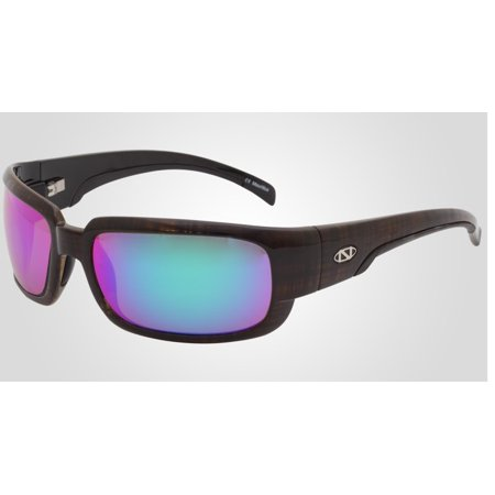 Onos Loon 124GA250 GREEN MIRROR Lens Polarized +2.50 ADD Reading (Add Mirror Coating To Sunglasses)
