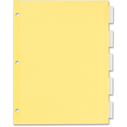 Avery Office Essentials Econ. Insertable Tab Dividers