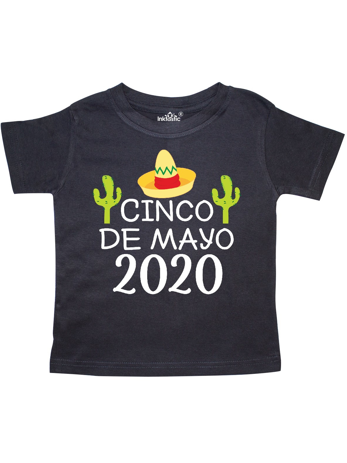 inktastic Cinco De Mayo with Flowers Toddler T-Shirt