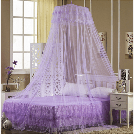 Mosquito Net Netting Bed Home Canopy Curtain Dome Queen Size Sleep Protection Tent (Canopy Tent For Bed)