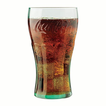 Libbey Coca-Cola Tumbler Glasses, Set of - Coca Cola Tumbler
