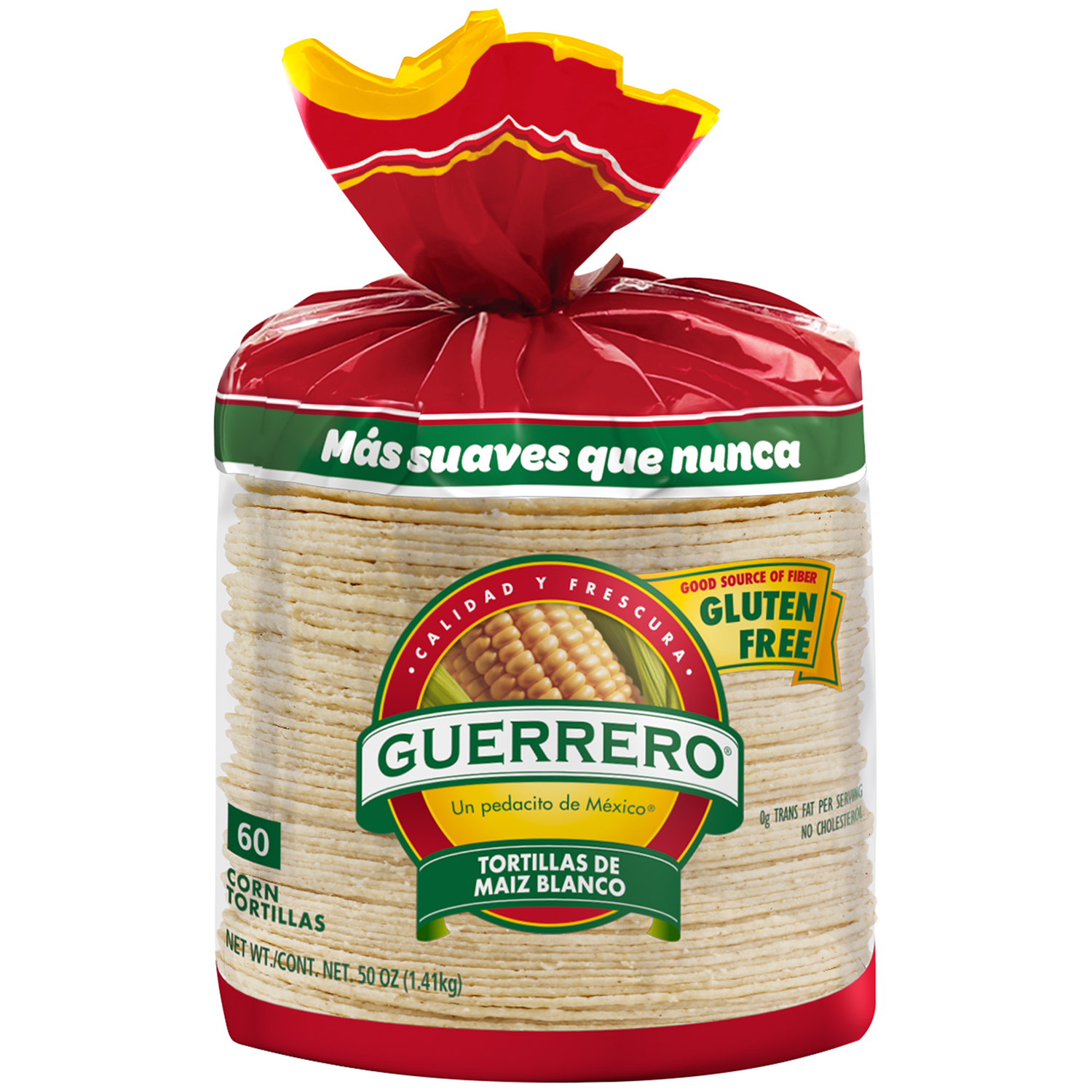 Guerrero® White Corn Tortillas 60 ct Bag