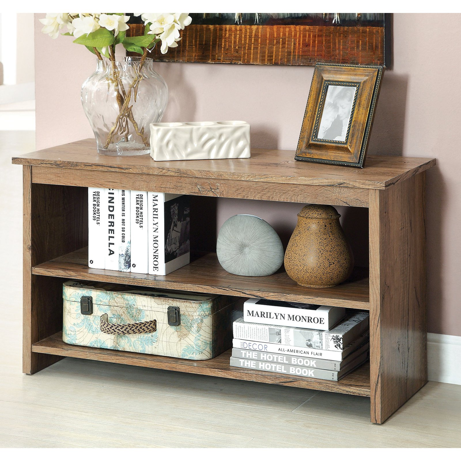 Furniture Of America 2 Shelf Side Accent Table