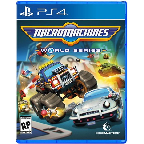 Codemasters Micro Machines World Series, Square Enix, PlayStation 4, 816819013823