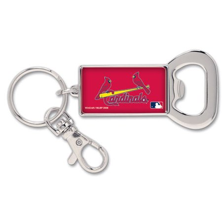 St. Louis Cardinals WinCraft Bottle Opener Key Ring Keychain - No Size