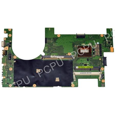 60NB00M0-MB4060 Asus G750JW Laptop Motherboard w/ Intel i7-4700HQ 2.4Ghz CPU