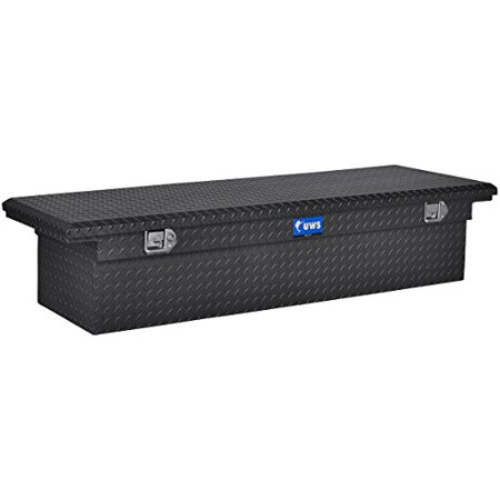 UWS/United Welding Services TBS-72-LP-MB UWSTBS-72-LP-MB UWS 72IN ALUMINUM SINGLE LID CROSSOVER TOOLBOX LOW PROFILE MATTE BLACK