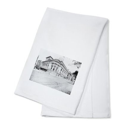Century Opera House on Central Park West & 62nd Street NYC Photo (100% Cotton Kitchen Towel)
