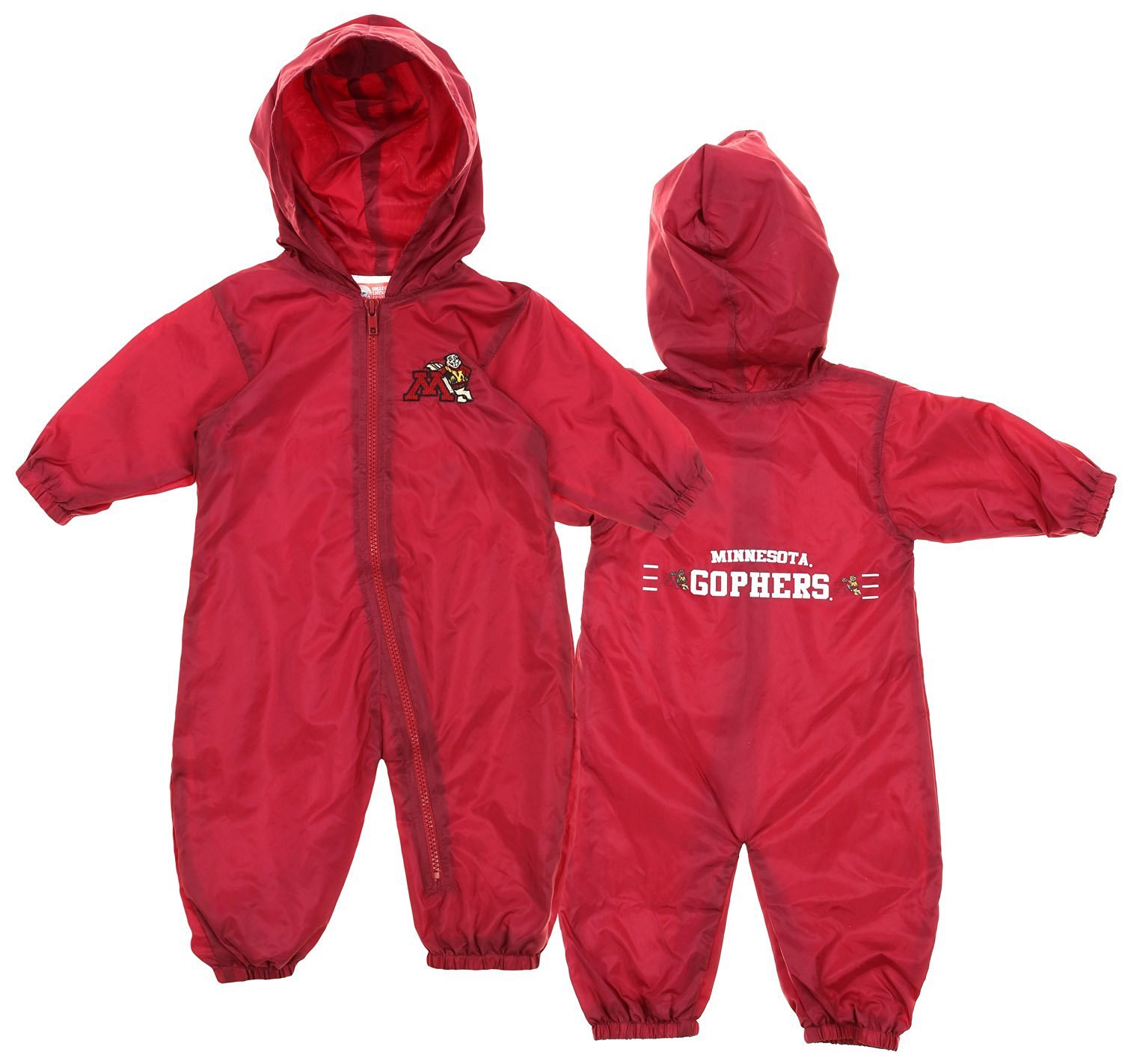 University of Minnesota Gophers Baby and Toddler Snap Hooded Jacket