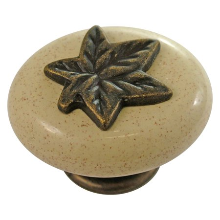 French Country Oval Knob - Hickory Hardware Country Casual Oval Cabinet Knob