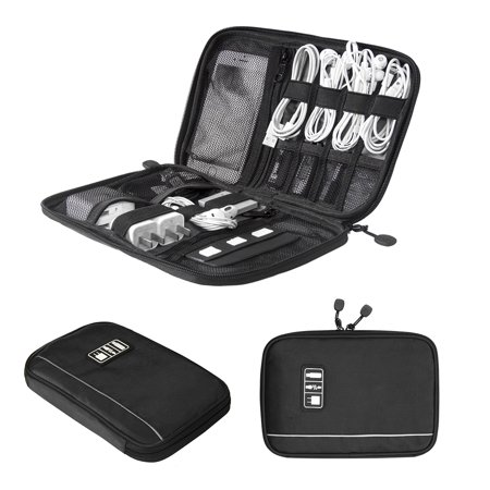 BAGSMART Travel Universal Cable Organizer Electronics Accessories Cases For Various USB, Phone, Charge and Cable