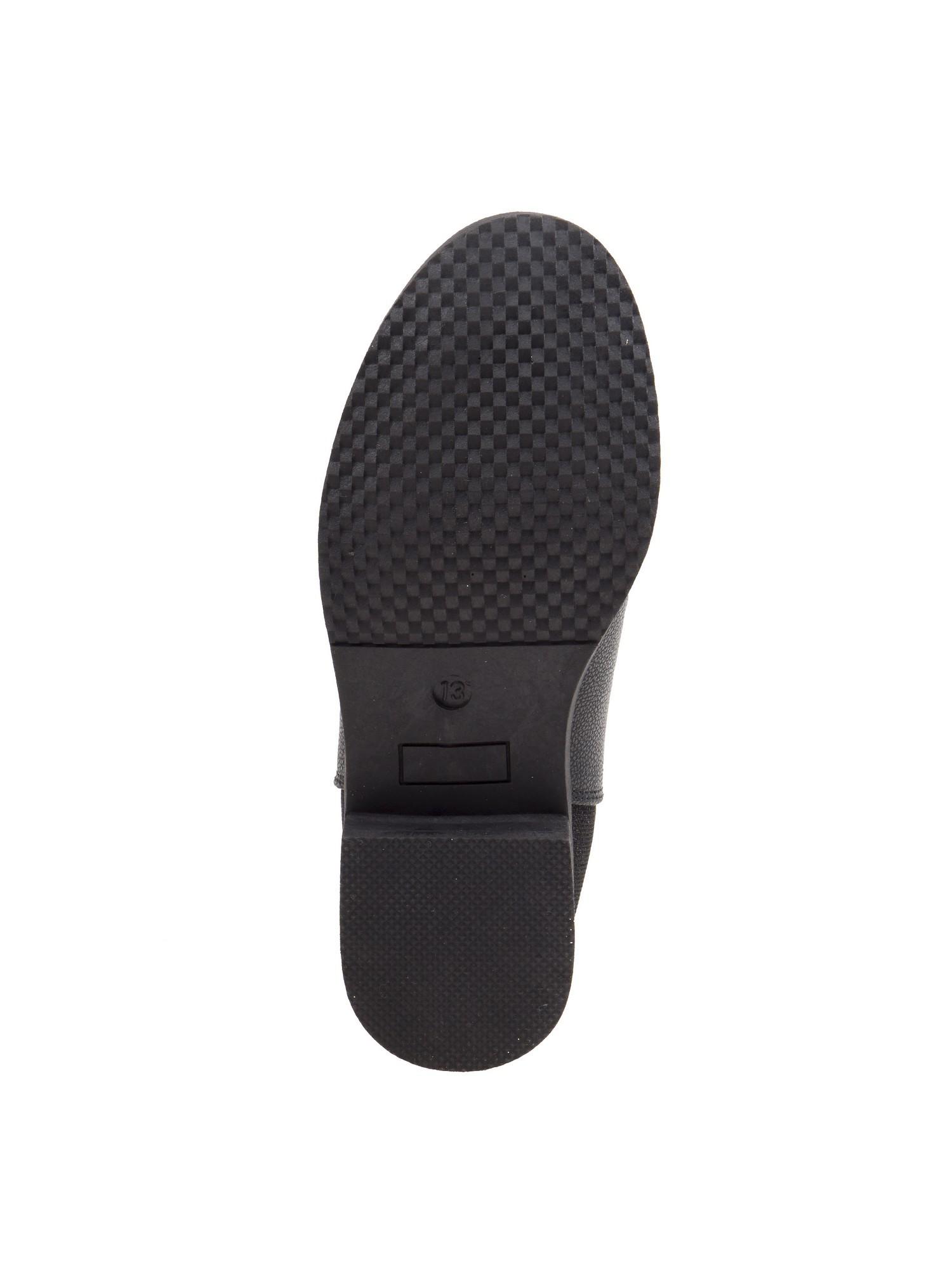 Nanette Lepore Panel Girls Black Elastic Side Panel Lepore Closure Chelsea Boots 9445fe