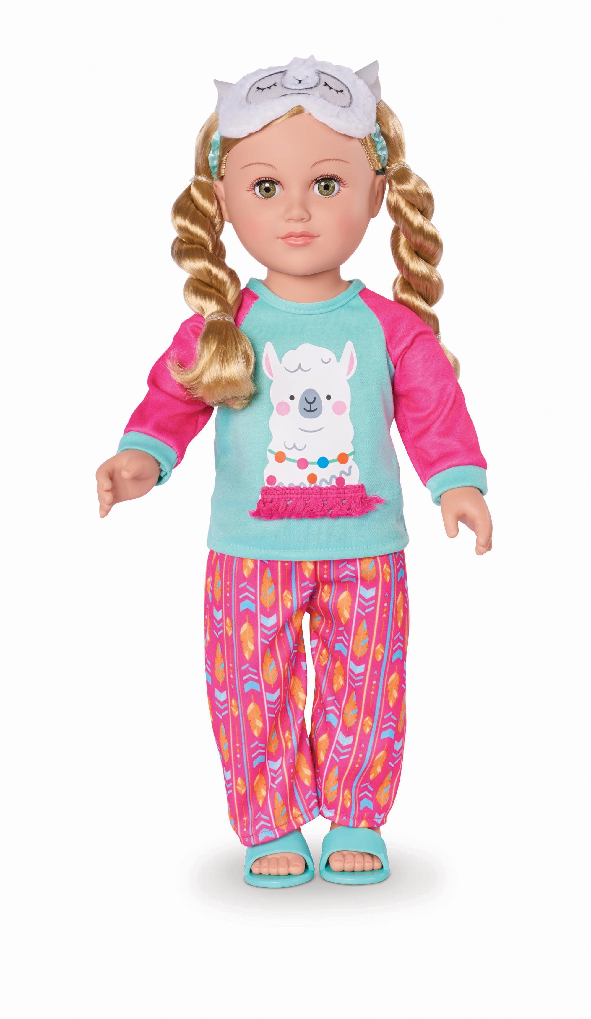 "My Life As 18"" Poseable Sleepover Host Doll, Blonde Hair"