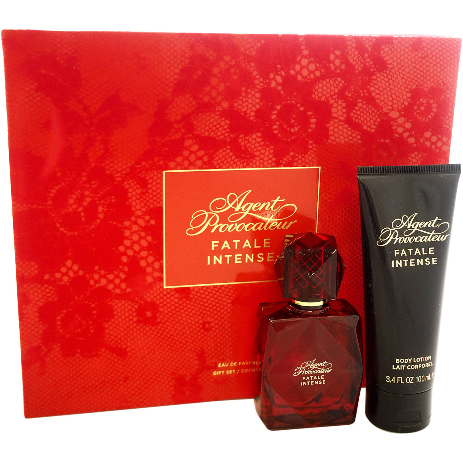 Agent Provocateur Fatale Intense by Agent Provocateur for Women - 2 Pc Gift Set 1.7oz EDP Spray, 3.4oz Body Lotion