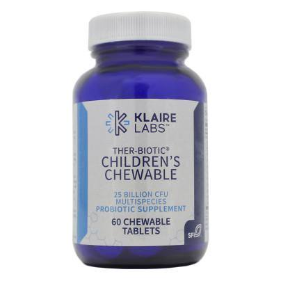 Klaire Labs- Ther-Biotic Childrens Chewable 60 tabs