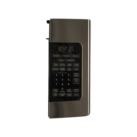 WB07X11277 GE Microwave Control Panel Asm Ss