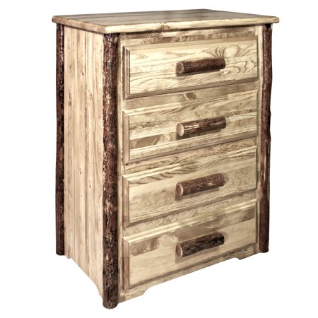 Glacier Country Collection 4 Drawer Chest of Drawers