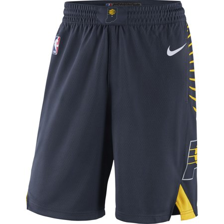 Indiana Pacers Nike 2018/19 Icon Edition Swingman Shorts - Navy
