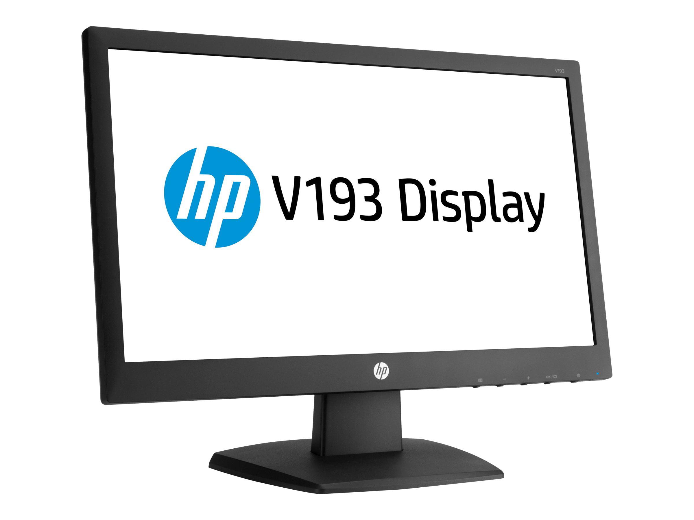 HP v193 - LED monitor - 18.5