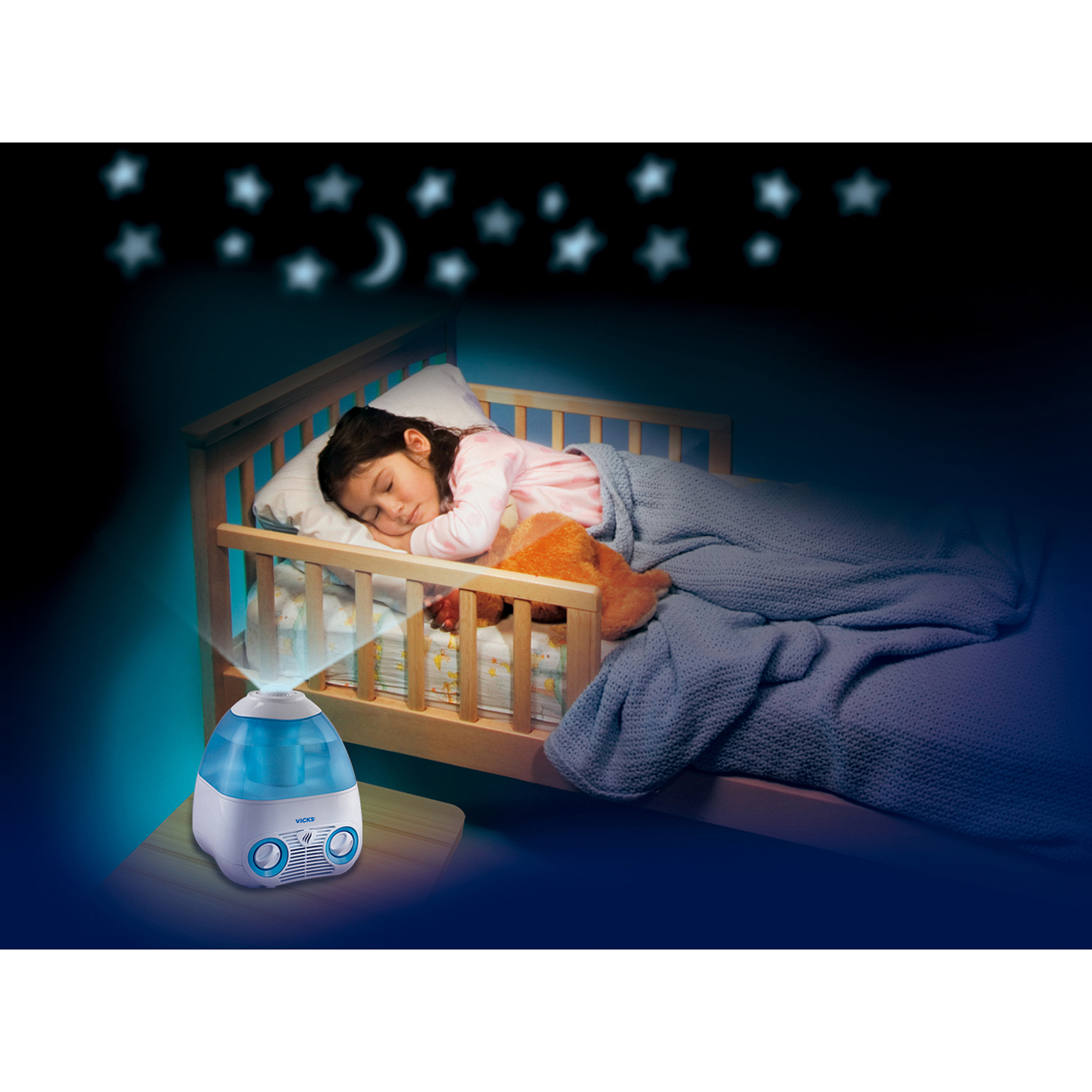 Vicks Starry Night Humidifier V3700