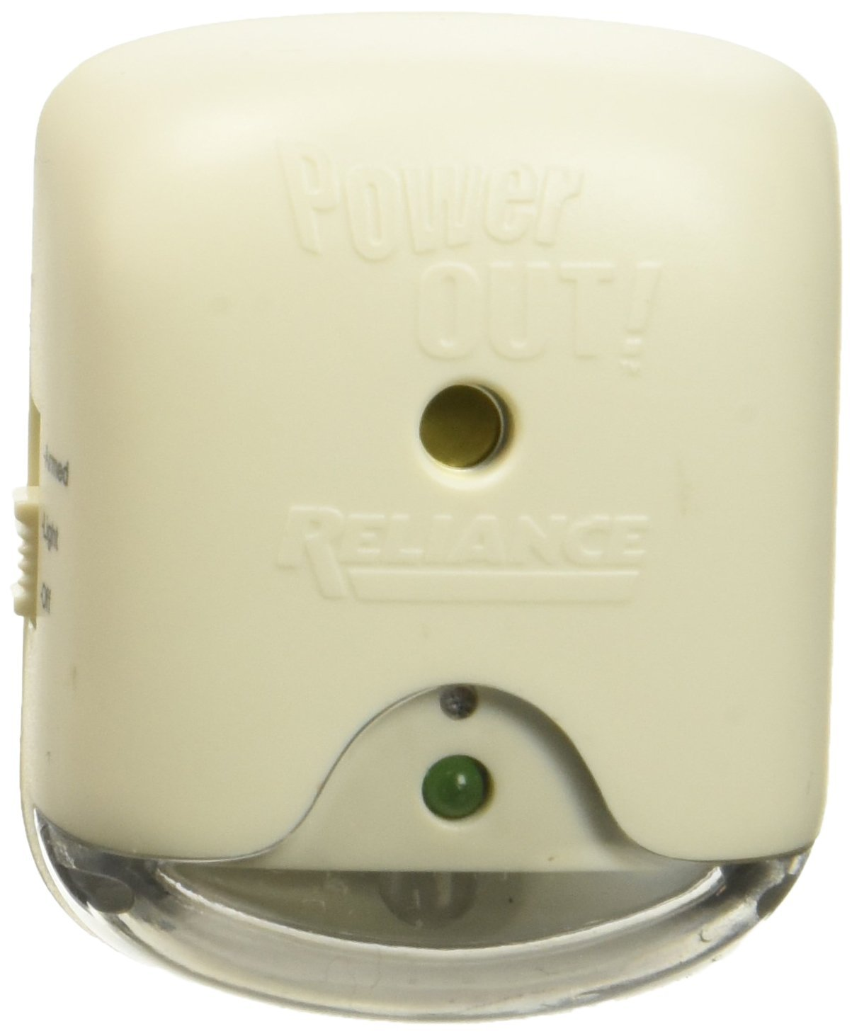 POWER FAIL LIGHT W ALARM by RELIANCE CONTROLS MfrPartNo THP207M, Reliable 120-Volt Outlet Power... by
