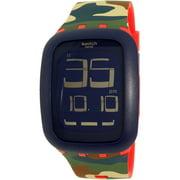 Swatch Men's Touch SURR104 Multi Silicone Quartz Fashion Watch