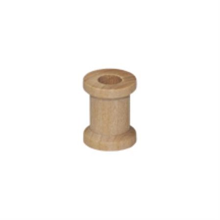 Brand New SP3000-100 Wooden Unfinished Wood Spool Bag of 100](Wooden Spools)