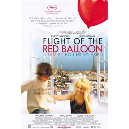 Posterazzi MOVII3192 The Flight of the Red Balloon Movie Poster - 27 x 40 in. - image 1 de 1