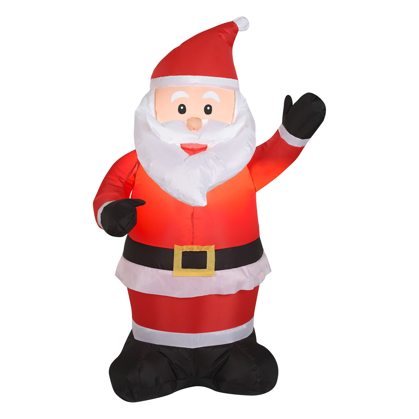 Gemmy Industries 87644 Christmas Decoration, Lighted Inflatable Santa, 3.5-Ft.