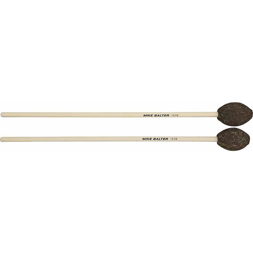 Mike Balter Universal Series Birch Handle Marimba Mallets Brown Yarn Medium-Hard to Hard by Mike Balter