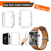 38 mm/40mm/42mm/44mm TPU Protective Case - Transparent Case Cover Screen Protector For Apple Watch Series 3 4 5