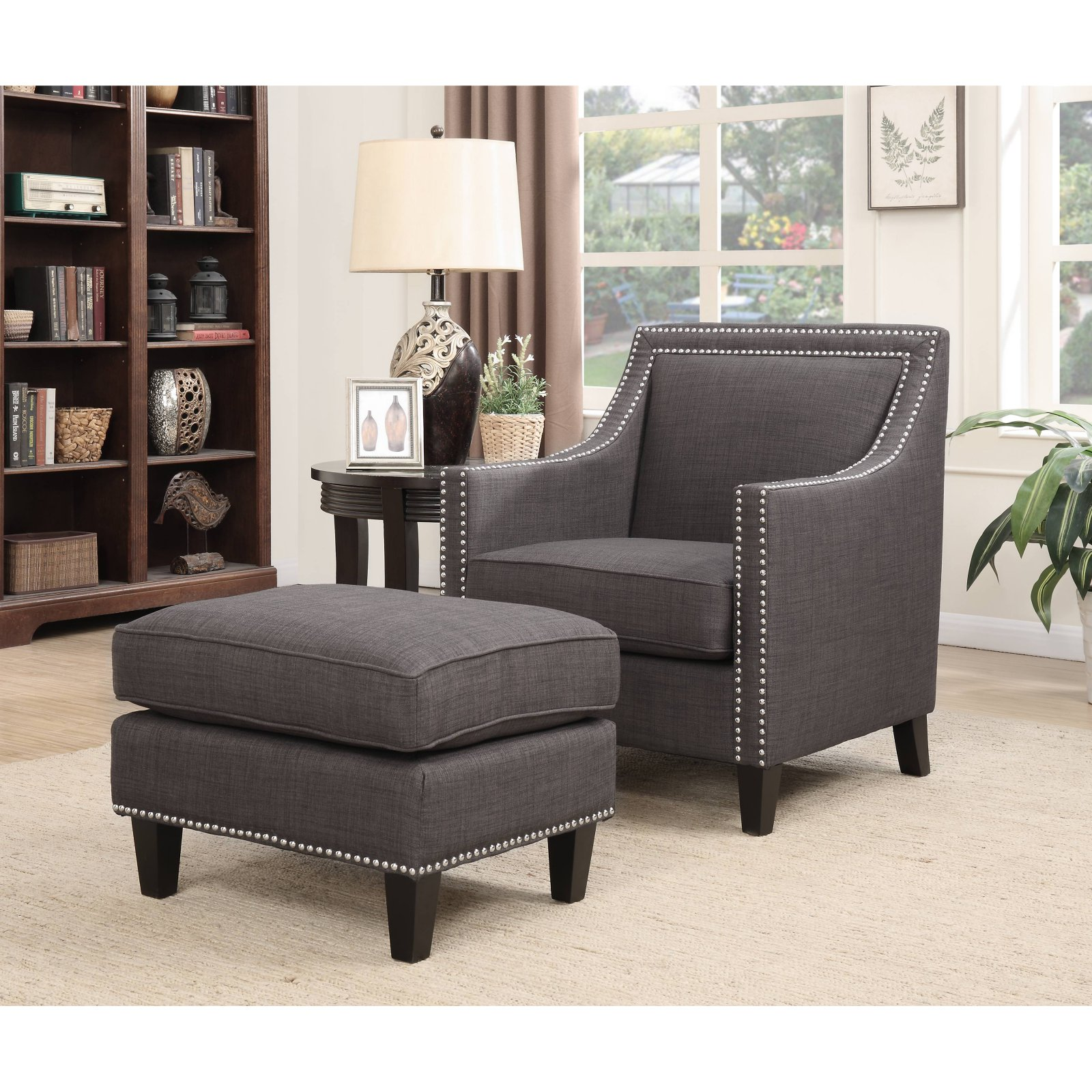 Hannigan Accent Chair Ottoman: Picket House Emery Accent Chair With Ottoman