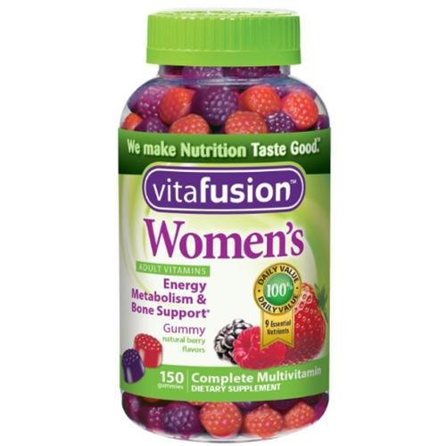 Vitafusion Women's Daily Multivitamin Gummy 150 ea (Pack of 3)