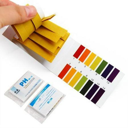 TOOGOO 160 pH Indicator test Strips 1-14 Paper Litmus Tester Urine & Saliva