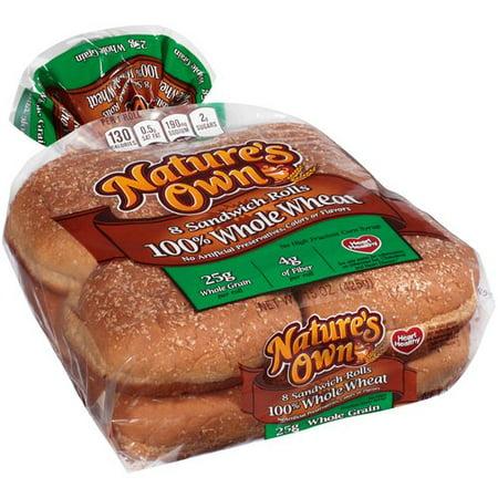 Nature S Own  Whole Wheat Bread  Oz  Ct