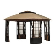 Garden Winds Replacement Canopy Top for Sutton Gazebo - Riplock 350