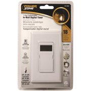 PowerZone Indoor In-Wall Timer, 7 Day