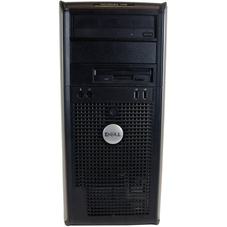 Refurbished Dell 745 Mini Tower Desktop Pc With Intel Core 2 Duo Processor  4Gb Memory  1Tb Hard Drive And Windows 10 Pro  Monitor Not Included