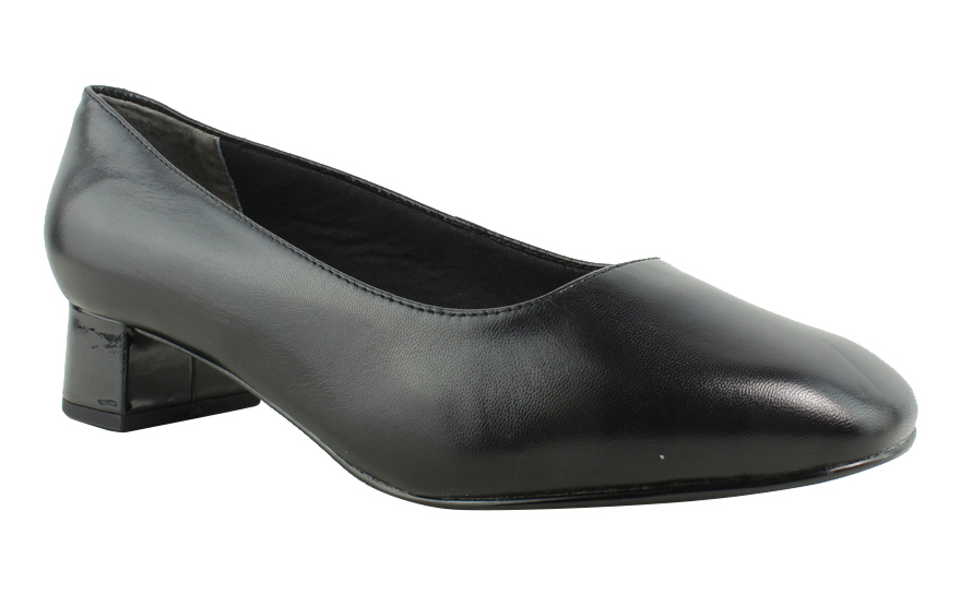 New Trotters Womens T1561-001 Black Pumps Size 6.5 Wide (C, D, W) by Trotters