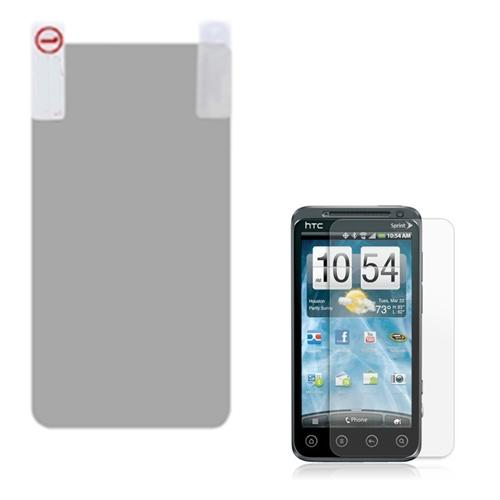 Insten Anti-grease LCD Screen Protector/Clear for HTC: EVO 3D, EVO V 4G