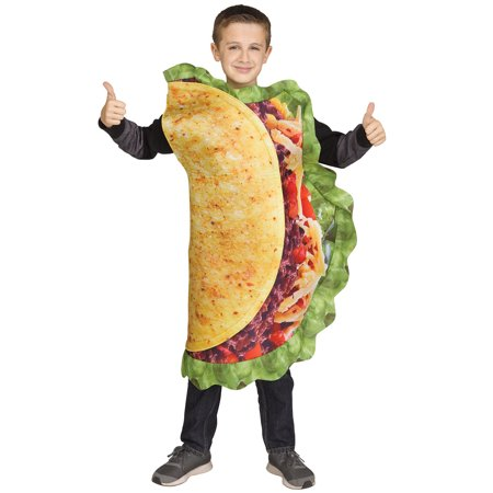 Taco Costume For Kids (Funny Taco Child Costume)