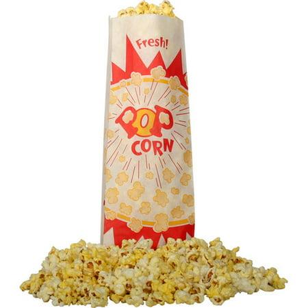 Snappy Popcorn Burst Design Popcorn Bag (Set of - Popcorn Bags Party City