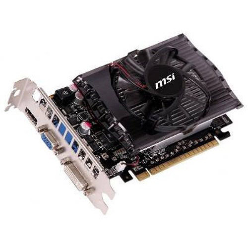 MSI GeForce GT 630 N630GT-MD4GD3 Video Card - 4GB, DDR3, PCI-Express 2.0(x16), 1