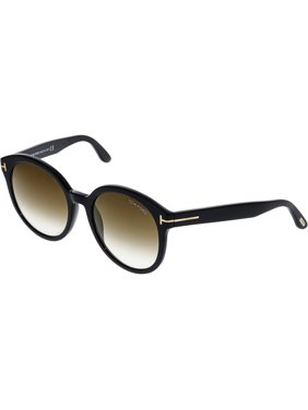 3c55aae36f Product Image Tom Ford Women s Phillipa FT0503-01G-55 Black Oval Sunglasses