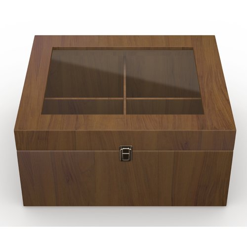 Darby Home Co Wood Storage Box Lid