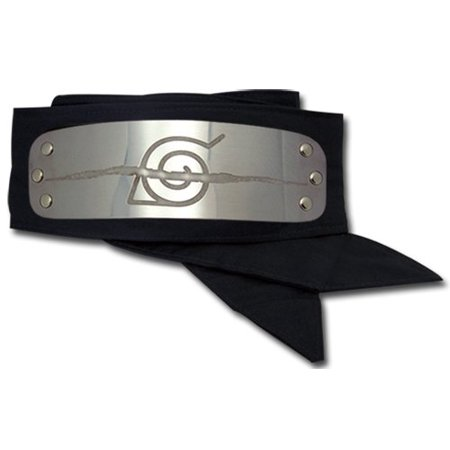 Hidden Leaf Village Headband (Naruto Anti Leaf Village Metal Plate)
